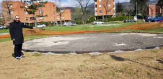 Fitness all'aria aperta, a Montemurlo nasce il percorso benessere nel parco di via Fermi