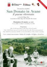 il libro su San Donato in Avane (immagine da comunicato)