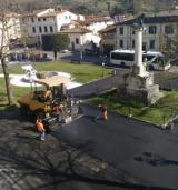 lavori piazza della Repubblica