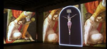 L'inaugurazione Leonardo e Pontormo (immagine da comunicato)