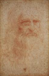 Autoritratto Leonardo a Torino