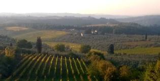 Una visione del territorio di San Casciano ( foto da sito del COmune)