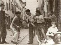 Partigiani in azione a Firenze (foto da comunicato)