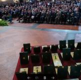 """La cerimonia di consegna di consegna delle """"Stelle al Merito del Lavoro""""  (foto da comunicato)"""