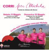 La locandina di Corri per Michela (immagine da comunicato)
