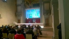 Presentazione del rapporto sul Terzo settore (foto da comunicato RT)