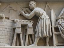 Nanni di Banco Lo scultore al lavoro
