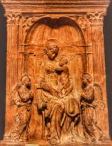 Donatello, Madonna con bambino (immagine da comunicato)