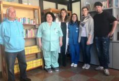 Personale dei reparti di ostetrica e pediatria del S.S. Cosma e Damiano