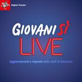 """""""Giovanisì Live"""" in diretta Facebook  (foto da comunicato RT)"""