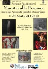La mostra i Maestri alla Fornace (sito fornace Pasquinucci)