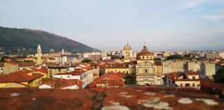Vista dal palazzo Pretorio (foto da comunicato)