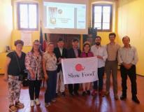 Una delegazione della Corea del Sud in visita nel Comune mediceo per conoscere i fichi secchi di Carmignano
