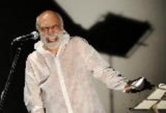 Epigenetic poem, Giovanni Fontana porta a Palazzo Pretorio la 'poesia sonora e visiva' (foto da comunicato)