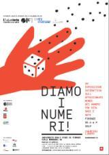 Locandina Diamo i Numeri (immagine da comunicato)