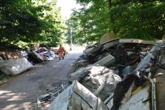 Discarica di via Ciliegiole, iniziata la pulizia dell'area