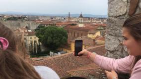 La terrazza del Palazzo Pretorio di Prato (foto da comunicato)