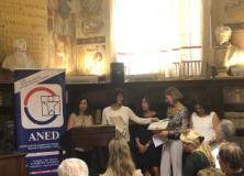 Consegna borse di studio intitolate a Franca Pellini