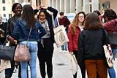 Studenti polo di Novoli (foto da comunicato)
