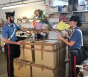 Controlli anticontraffazione dei Carabinieri