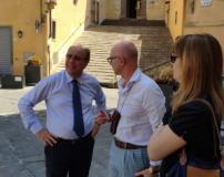 Il direttore dell'ufficio scolastico regionale in visita a Fucecchio