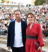 Paolo Sorrentino e Elena Sofia Ricci al Teatro Romano di Fiesole