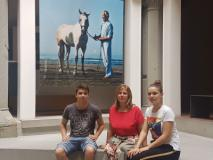 Studenti al Museo Marino Marini