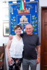 Brnda Barnini e Rodolfo Lari (foto da comunicato)