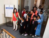Bambini Saharawi in Comune a Empoli