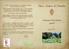 Il programma di eventi e visite nel Parco di Pratolino