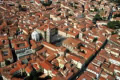 Centro storico Pistoia dall'alto (foto da comuncato)