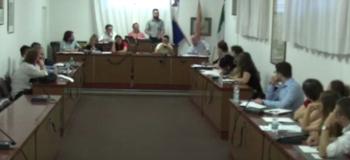 Consiglio Comunale (video frame da comunicato)