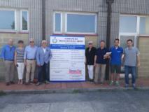 Aggiornamento lavori della scuola primaria di Troghi (foto da comunicato)