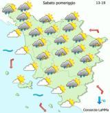 prosegue anche domani l'allerta gialla a Firenze (immagine da www.cfr.toscana.it)