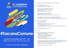 Il programma dell'Assemblea ANCI (immagine da comunicato)