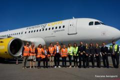 Vueling inaugura le quattro nuove rotte e aggiunge un aereo A319 basato
