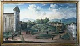 Pistoia. Ignoto piazza San Francesco (foto da comunicato)