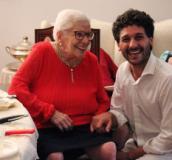Bruna Bargigli con Fabio Barsottini