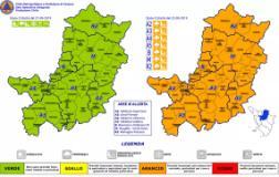 Codice arancio per maltempo nel territorio metropolitano fiorentino domenica 22 settembre 2019