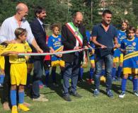 Inaugurazione del nuovo manto erboso dello stadio comunale di Greve