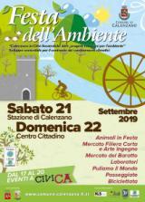 Manifesto Festa dell'Ambiente a Celenzano