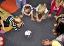 Bambini all'asilo (Foto dal sito della Regione Toscana)