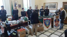 Carabinieri Forestali scoprono un arsenale di armi e munizioni da caccia nel comune di Empoli