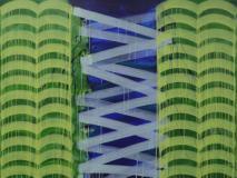 Liu Yan - Object - acrylic on canvas  2017 150x200cm  (foto da comunicato)