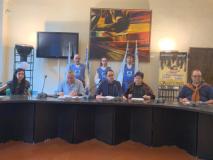 La presentazione delle iniziative a Novoli (foto da comunicato)