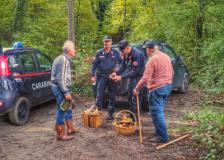 Controlli intensi dei Carabinieri Forestali sui raccoglitori nei Comuni di Vaglia e Calenzano