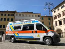 Ambulatorio mobile Misericordia di Empoli (foto da comunicato)
