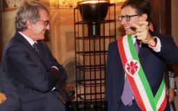 David Sassoli e Dario Nardella