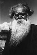 Anziano Ainu - Foto Fosco Maraini