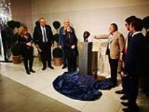Inaugurazione statua in onore di Rsaoul Wallenberg (Foto da comunicato)